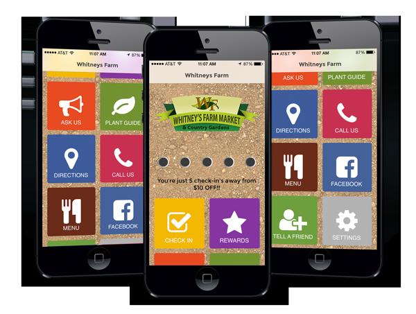 Whitney's Farm Mobile App - CHESHIRE & BERKSHIRE COUNTY Best Farm Market & Garden Center