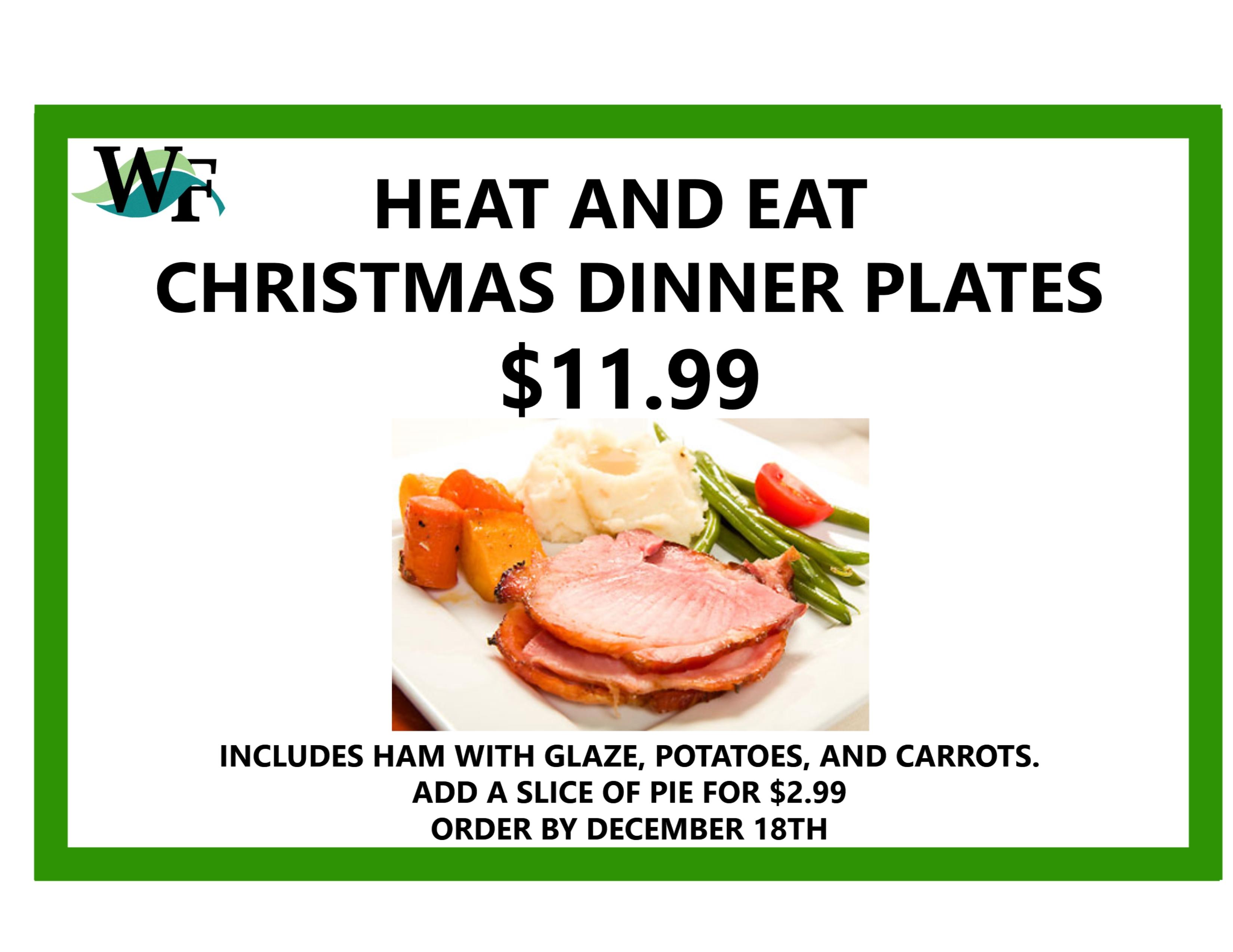 07 Dec Christmas Dinner Plates  sc 1 st  Whitney\u0027s Farm & Christmas Dinner Plates - Whitney\u0027s Farm Market \u0026 Garden Center